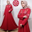 SALE – Gamis Modern Babyterry Bordir
