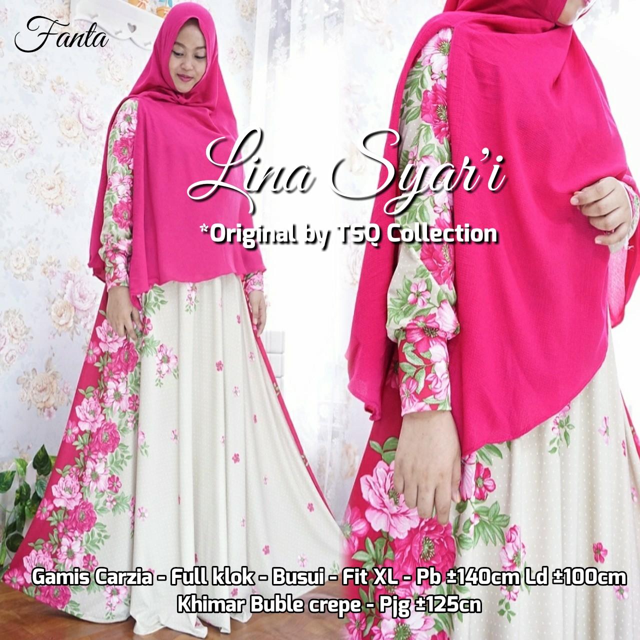 Baju Muslim Setelan Lina Syari