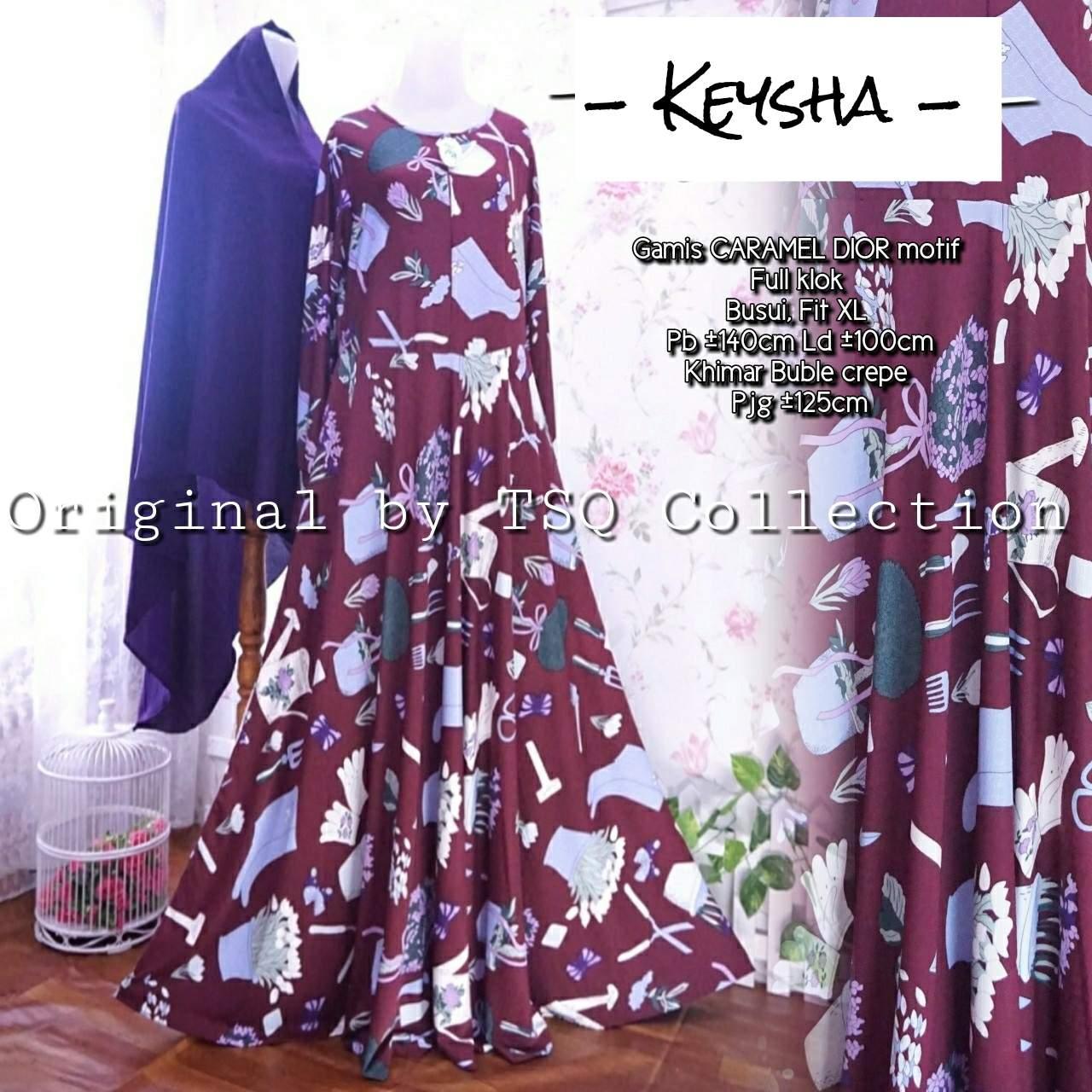 Baju Muslim Remaja Keysha Syar 39 I Gamis Modern Murah