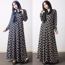 Maxi Jersey Murah Abstrak Hexagon