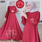 Maxi Dress Woolpeach Bordir C833