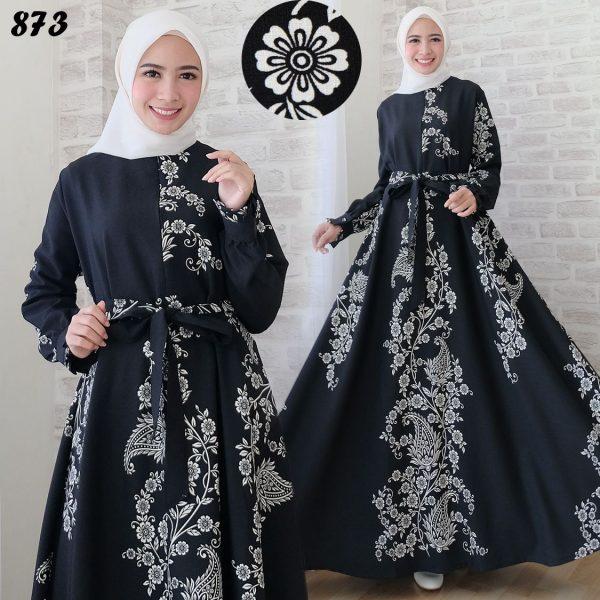 Maxi Dress Motif Etnik C873