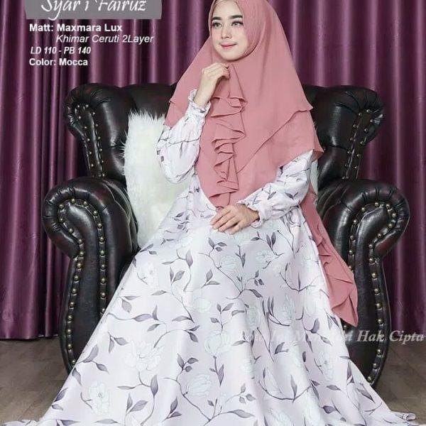 gamis maxmara Syari Fairuz