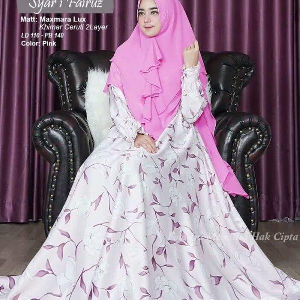 gamis modern Syari Fairuz