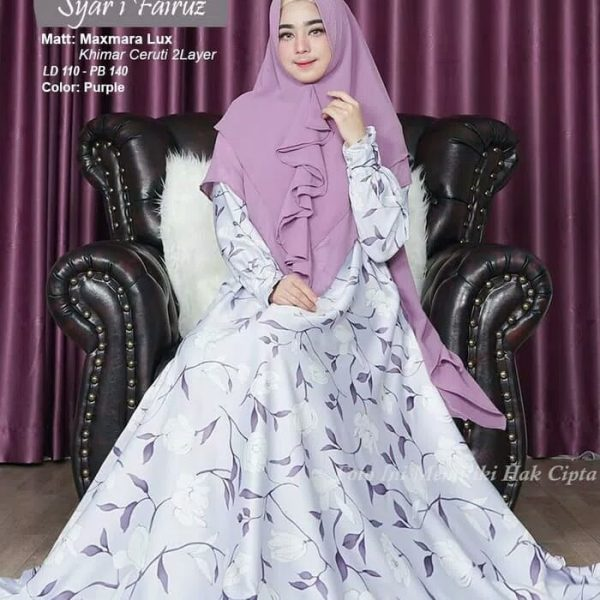 baju muslim modern Syari Fairuz