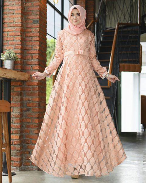 Baju Gamis Organza - Leiner Fashion