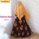 Cantya Syari Motif Bunga Size XL