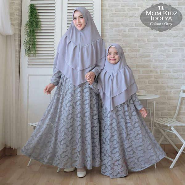model gamis couple idolya