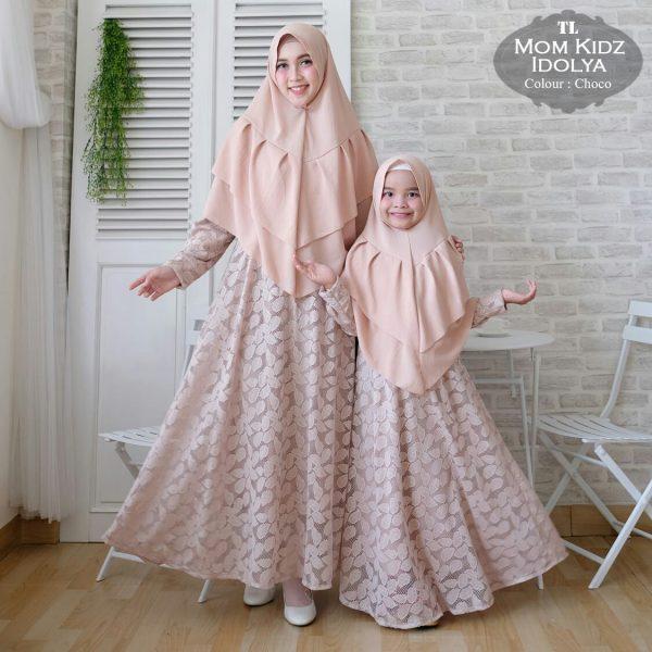 gamis ibu dan anak idolya