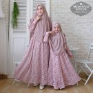 Gamis Couple Brokat Mom-Kid Idolya