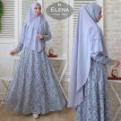 Gamis Syari Elena Brokat Size XL