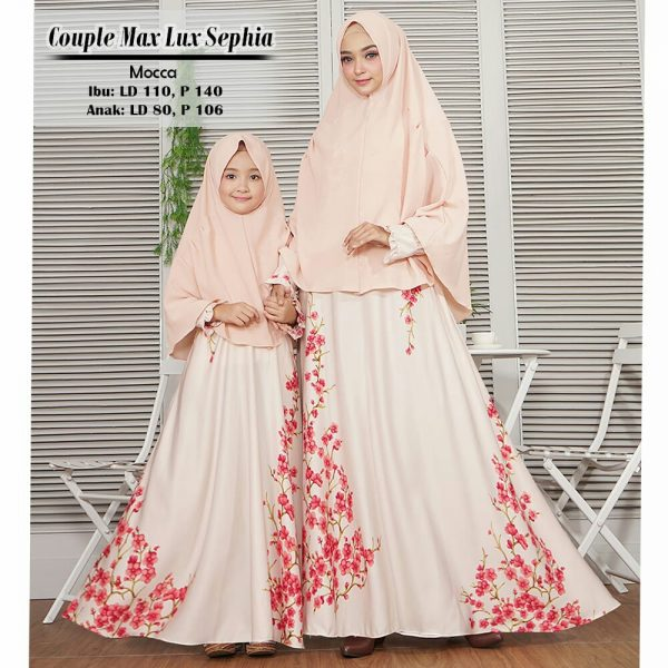 model baju muslim couple sephia