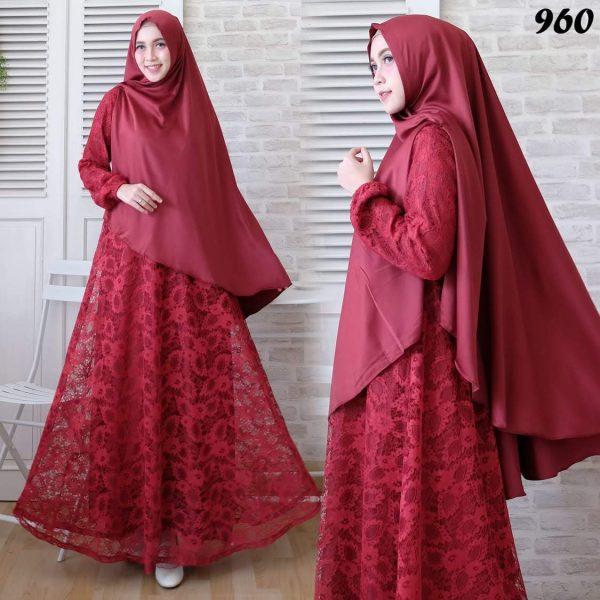 baju muslim brokat 960