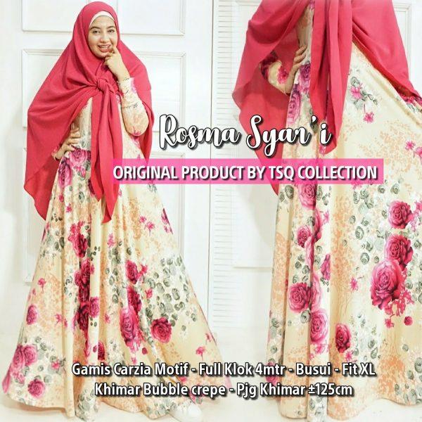 baju muslim murah rosma