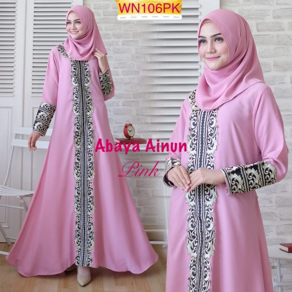 model abaya bordir ainun