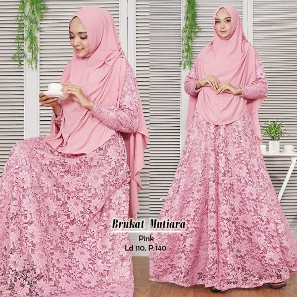 model baju brokat mutiara