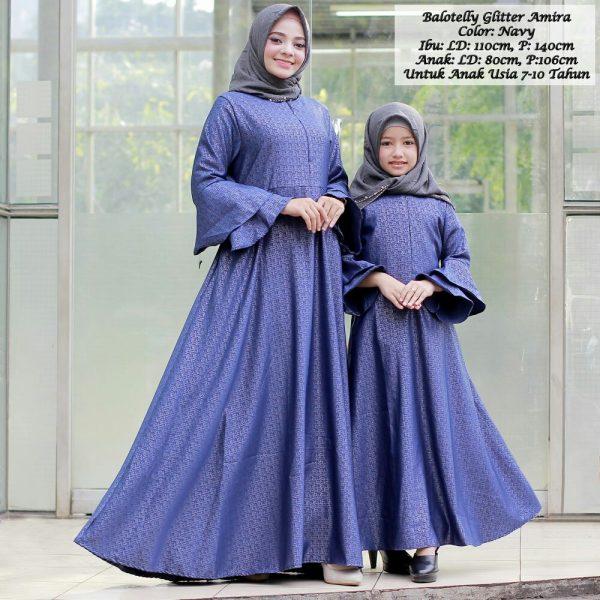 baju muslilm couple ibu dan anak