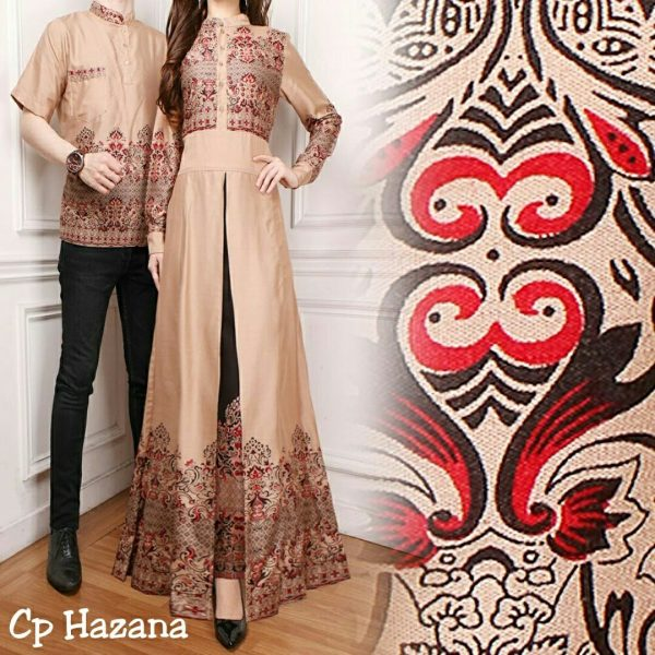 Baju Batik Couple Hazana