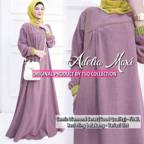 baju muslim modern adelia