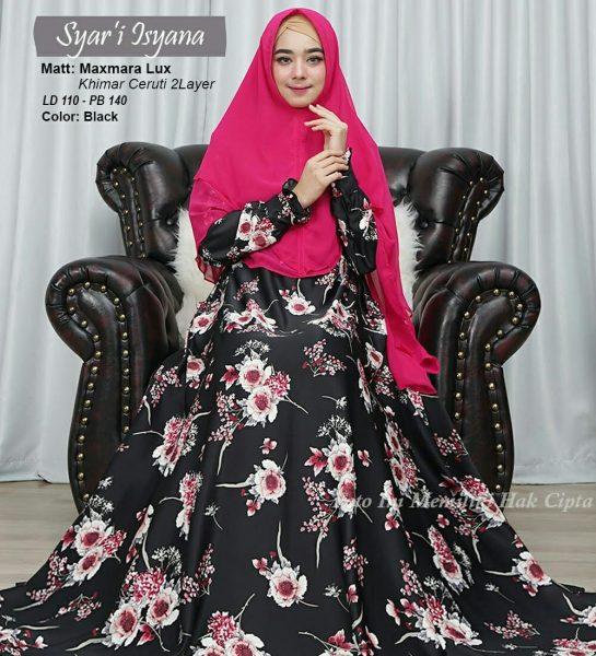 baju muslim modern isyana