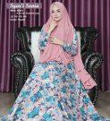 Baju Muslim Motif Bunga Sania Syari