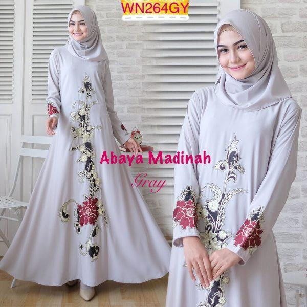 baju muslim abaya madina