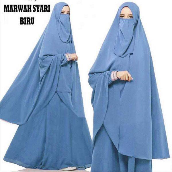 baju muslim cadar marwah