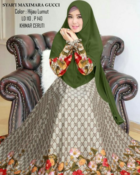 Busana Muslim Syari Maxmara Gucci