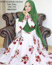 Gamis Maxmara Naurah Jilbab Ceruti