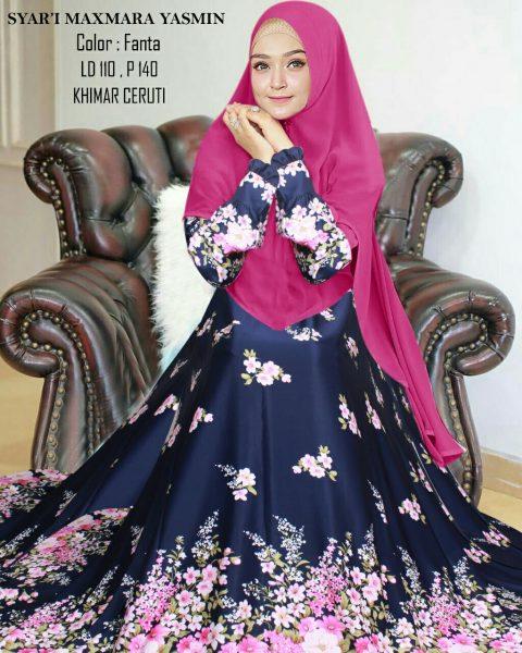 baju muslim modern yasmin