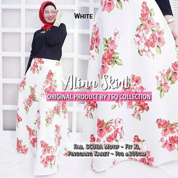 rok muslimah alina skirt
