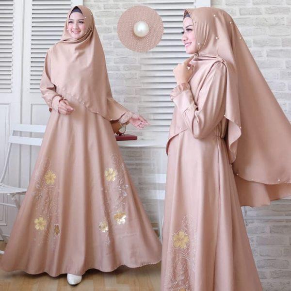 baju muslim polos Janela Syari