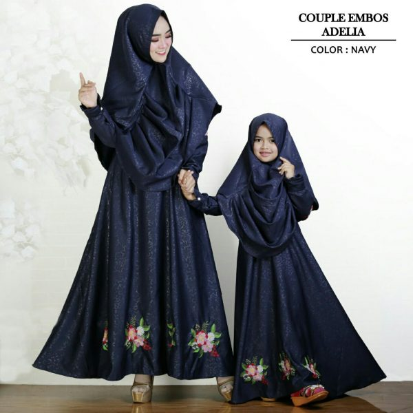 baju muslim couple adelia