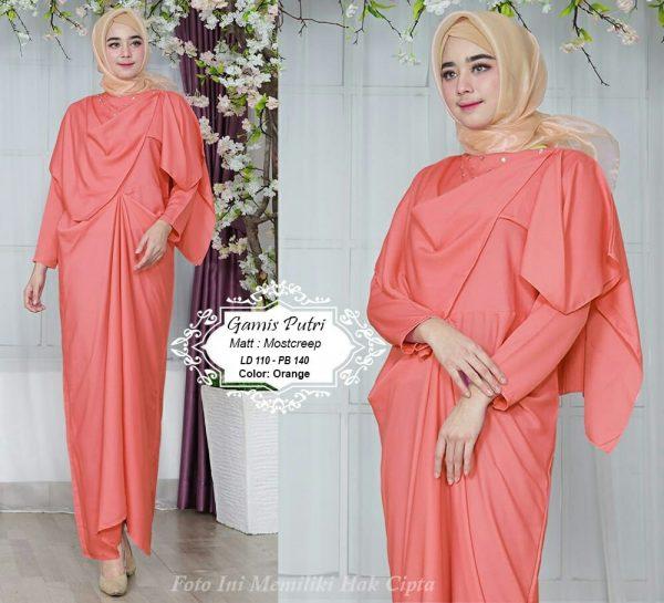 baju muslim pesta gamis putri