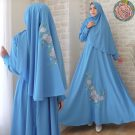 Gamis Lavenia Syari Wollycrepe