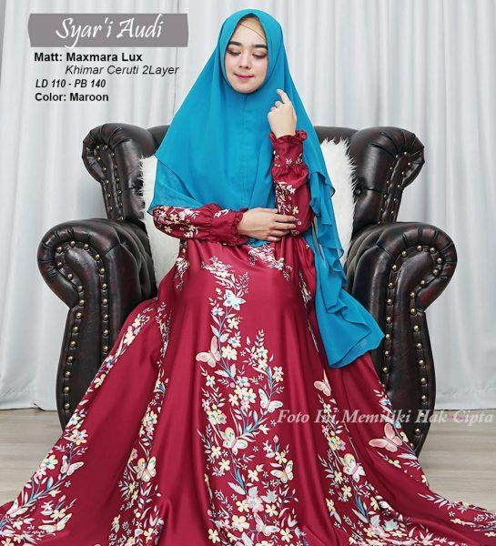 baju muslim syari maxmara audi