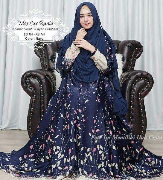 model gamis syari Rania