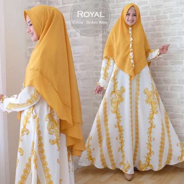 gamis terbaru Royal Syari