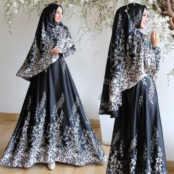 baju muslim maxmara RISA hitam
