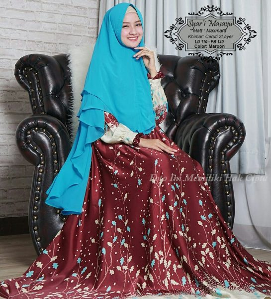 baju muslim syari modern maxmara masayu