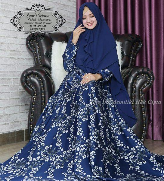 model baju muslim terbaru Syari Iriana