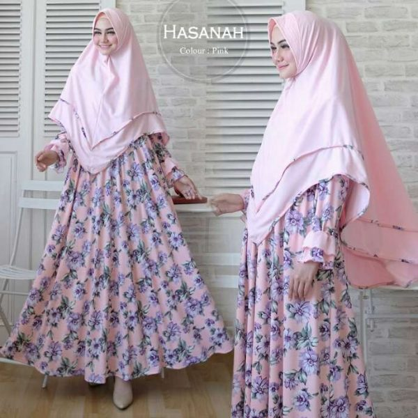 baju muslim murah Hasanah syari