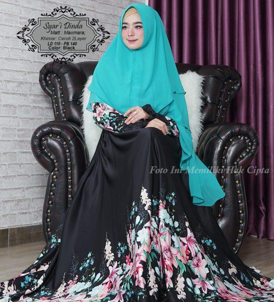 baju muslim syari maxmara dinda