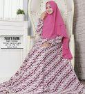 Baju Gamis Monalisa Batik Syari