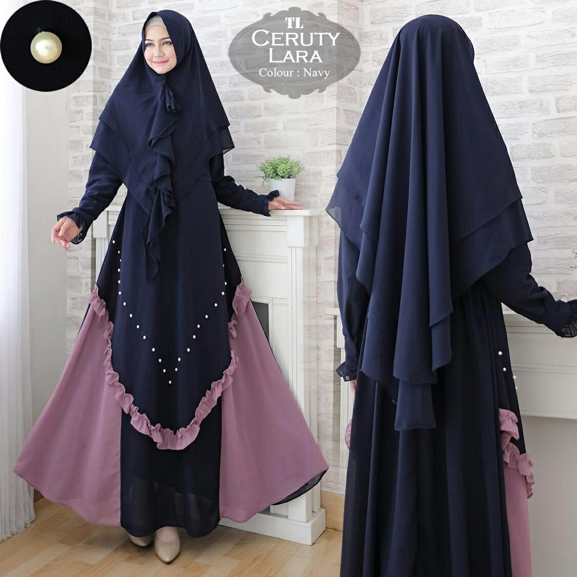 Model Baju Gamis Ceruti Terbaru 2019 Model Hijab Terbaru