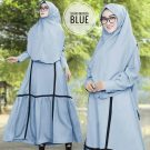 Gamis Mosscrepe Monza Plus Jilbab
