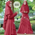 Gamis Hilya Barbie Lotus Plus Jilbab