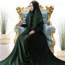 Gamis Sally Satin Plus Khimar
