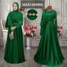 Maxi Sabina Satin Kombi Brukat