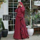 Gamis Mayra Full Ceruty Plus Jilbab